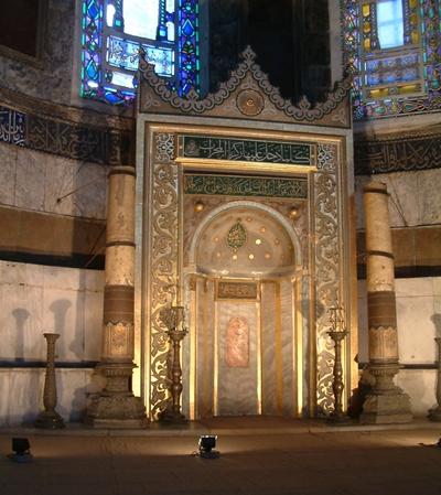 mihrab-trong-bao-tang-hagia-sophia